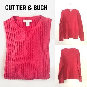 Cutter & Buck coral color size XL